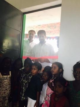 Inaugurated the Anganwadi Centre